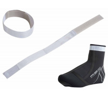 Светоотражающая лента 8-7901015 A-O35 на руку/ногу с липучкой неоново-серебристая AUTHOR