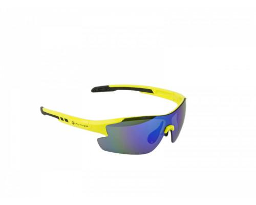 Очки 8-9201101 солнцезащ+чехол+кейс+прозр/желт/темная категория 3 ударопрочные поликарбонатные линзы, НЕОНОВАЯ оправа Vision LX AUTHOR