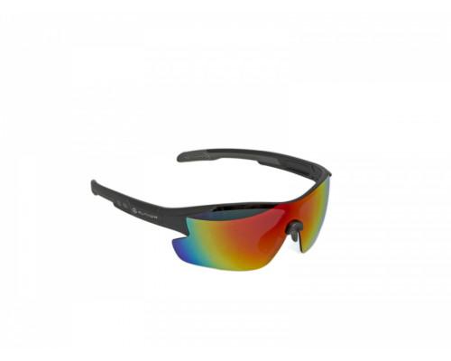 Очки 8-9201102 солнцезащ+чехол+кейс+прозр/желт/темная категория 3 ударопрочные поликарбонатные линзы, ТЕМНО-СЕРАЯ оправа Vision LX AUTHOR
