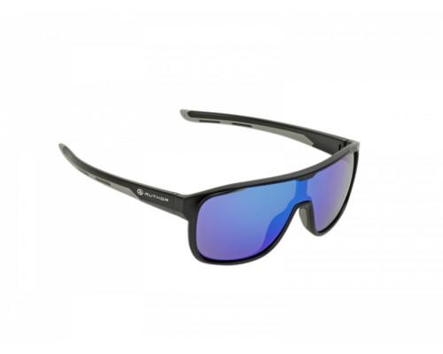 Очки 8-9201210 солнцезащ категория 3 Revo линзы 100% защита от UV +чехол, ударопрочные поликарбонатные черная оправа, 31гр. COMBE AUTHOR