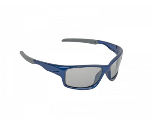 Очки 8-9201312 ДЕТСКИЕ солнцезащитные категория 2 100% защита от UV, зеркал поверхность ударопрочные поликарбонат. синяя оправа 22гр. Indee Junior AUTHOR